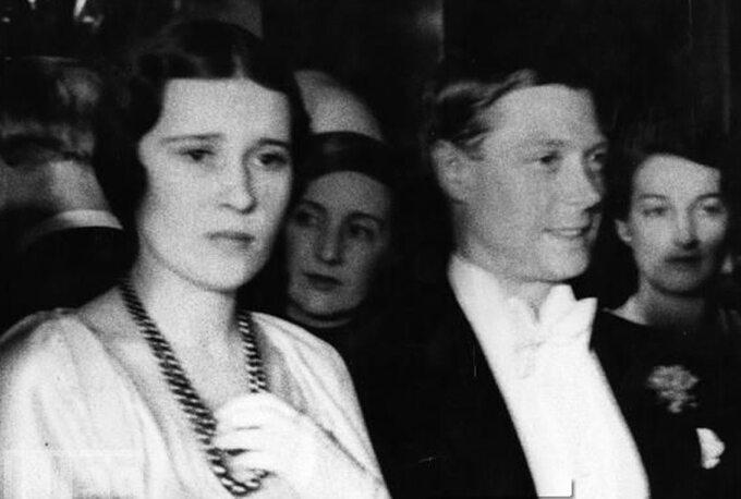 Thelma Furness iksiążę Edward w1932 roku