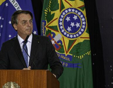 """Prezydent Brazylii starł się z dziennikarzem. """"Zamknij się"""""""
