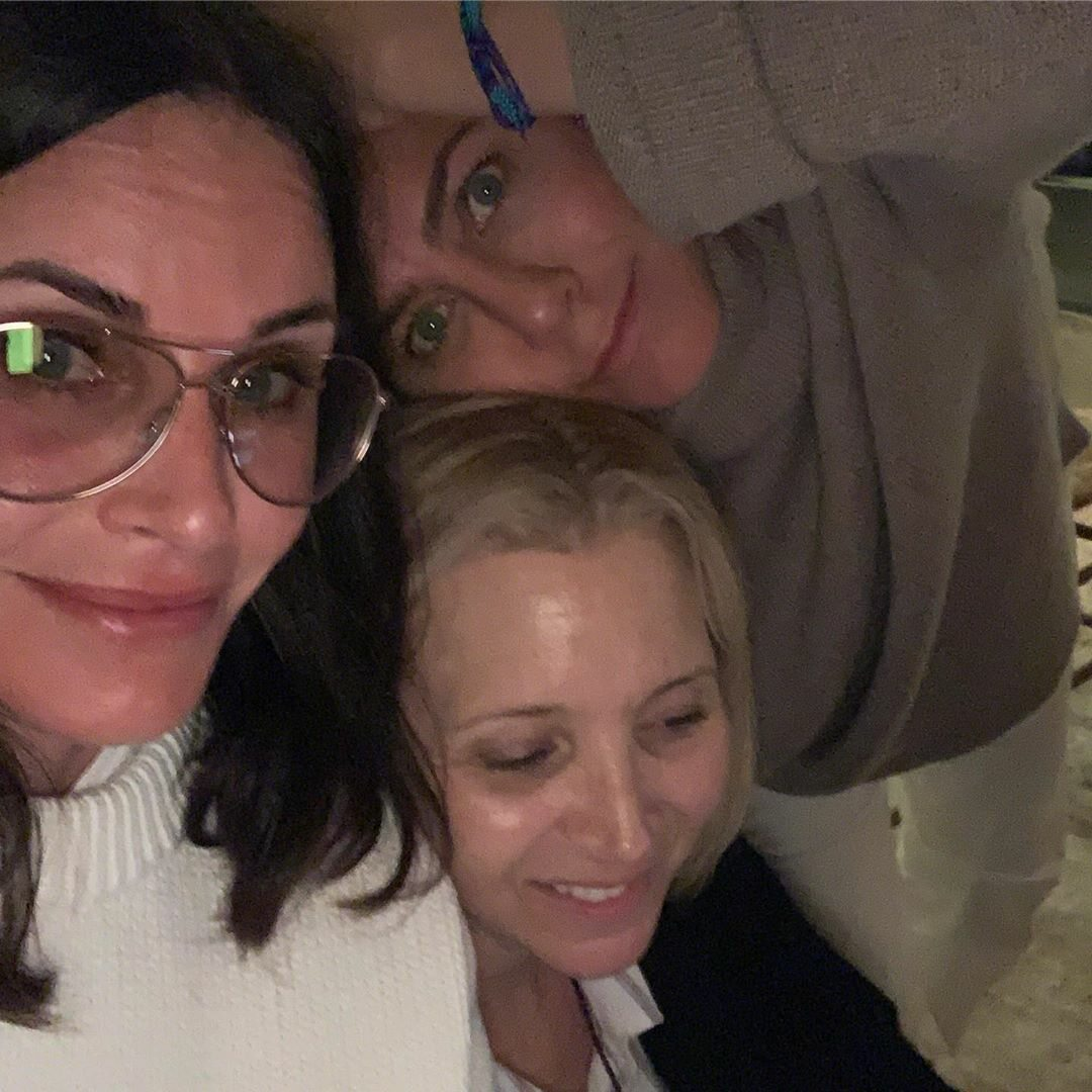 Lisa Kudrow, Courtney Cox i Jennifer Aniston