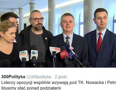 Liderzy opozycji i KOD wzywają do manifestacji przed TK