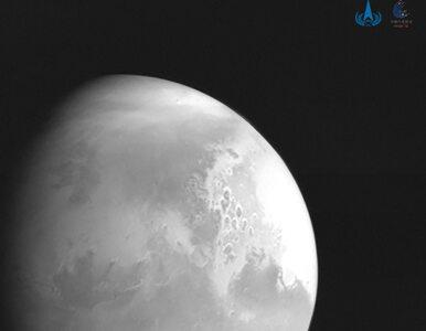 Pierwsze zdjęcie Marsa zrobione przez chińską sondę