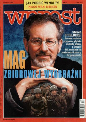Okładka tygodnika Wprost nr 13/1999 (852)