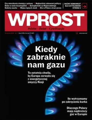 Okładka tygodnika Wprost nr 3/2009 (1358)