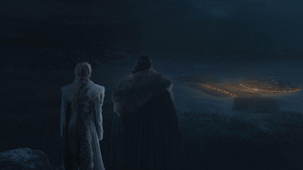 """Kadr z 3. odcinka 8. sezonu """"Gry o tron"""""""
