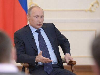 """""""Putin gdyby się cofnął, to by utracił władzę"""""""