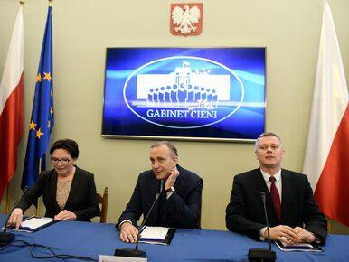 PO chce odwołać rząd Beaty Szydło i proponuje swojego kandydata na premiera