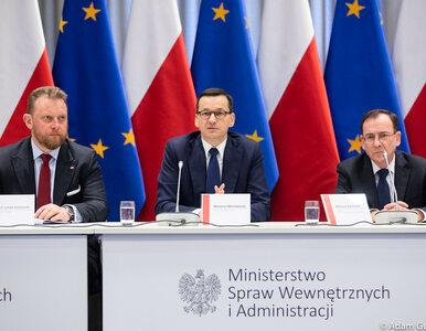 Morawiecki: Polska wprowadza kontrole sanitarne na granicach