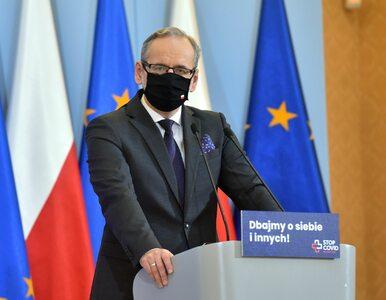 Konferencja ministra zdrowia. Niedzielski mówił o szpitalach polowych i...
