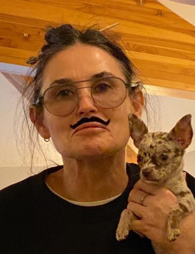 Demi Moore na zdjęciach zamieszczonych przez jej córkę Tallulah Belle Willis