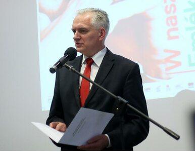 Gowin: podporządkuję się decyzji Rady Ministrów