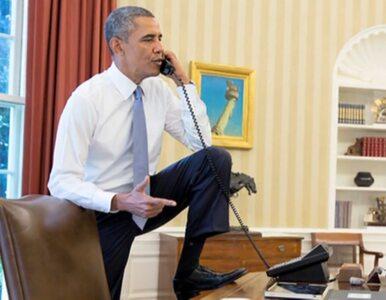 Zdjęcia z narad w Białym Domu. Obama-kowboj o Syrii