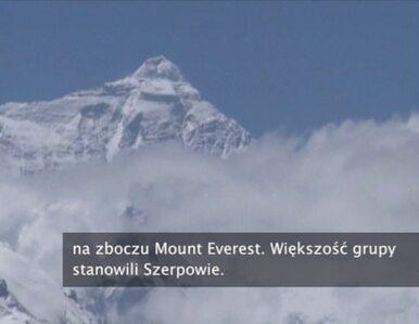 12 osób zginęło na zboczu Mount Everest