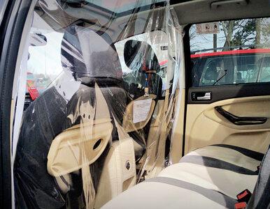Pierwsza firma w Polsce z autami tylko dla osób z podejrzeniem COVID-19