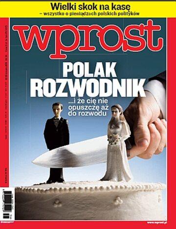 Okładka tygodnika Wprost nr 34/2011 (1489)