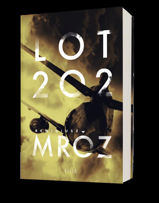 "Okładka książki ""Lot 202"""