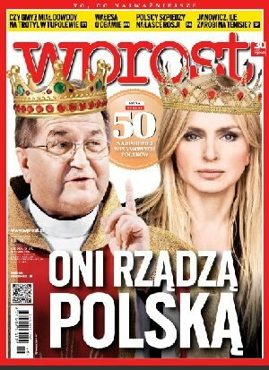Okładka tygodnika Wprost nr 46/2012 (1552)