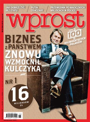 Okładka tygodnika Wprost nr 26/2015 (1685)