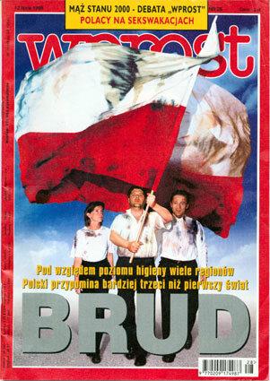 Okładka tygodnika Wprost nr 28/1998 (815)
