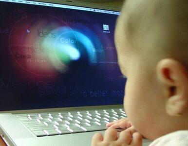 Przedszkolaki regularnie korzystają z Internetu