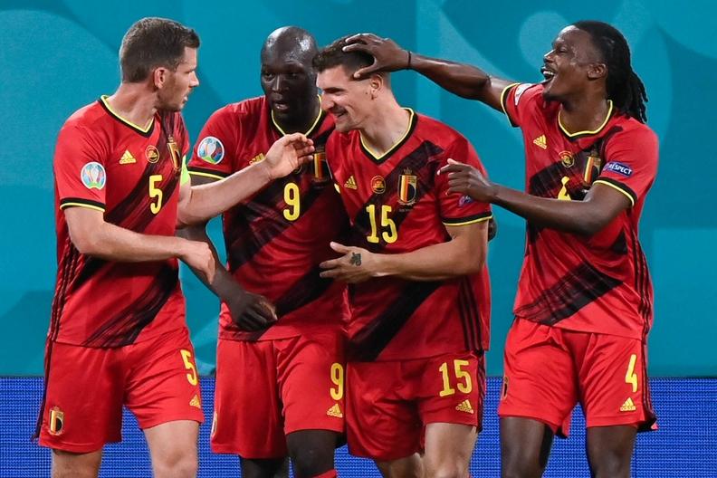 Euro 2020. Belgia – Rosja. Trzy bramki w meczu faworytów turnieju