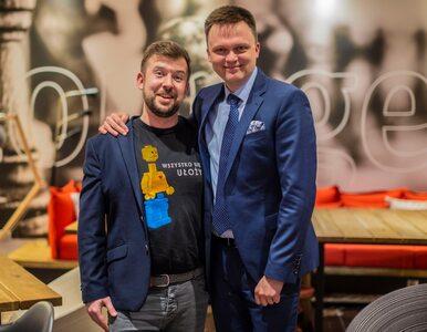 """Szymon Hołownia donosi o """"smutnej wiadomości tej kampanii"""". """"Biedroń..."""
