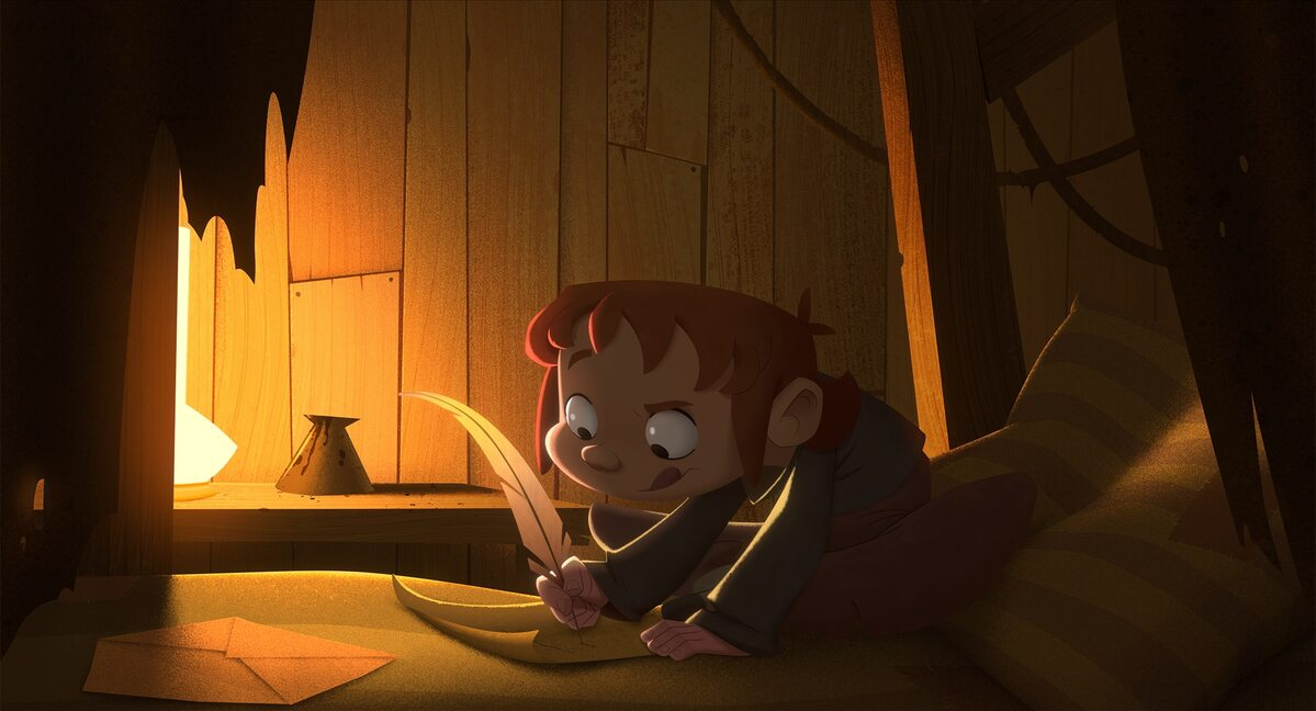 """Kadr z filmu animowanego """"Klaus"""""""