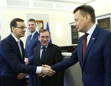 """Rekonstrukcja rządu. """"WP"""": Błaszczak bez teki wicepremiera, Kamiński z..."""
