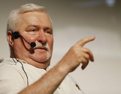 Błaszczak: Wałęsa mówił, że nie chce BOR. Sam nie może się zdecydować