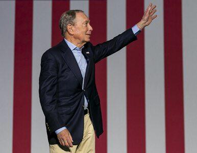 Wydał na kampanię 550 mln dolarów i... poddał się.  Mike Bloomberg...