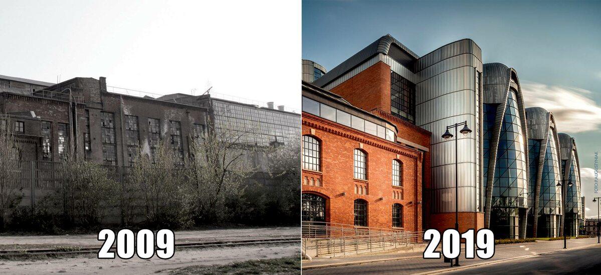 EC1 Łódź w miejscu dawnej elektrociepłowni