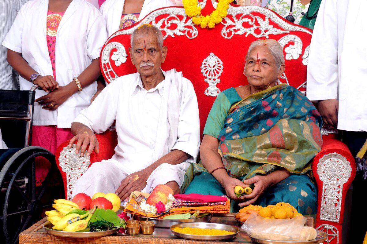 Mangayamma Yaramati  w ciąży