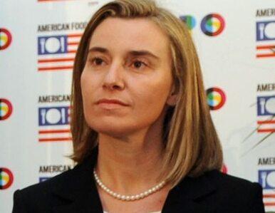 Federica Mogherini szefem unijnej dyplomacji