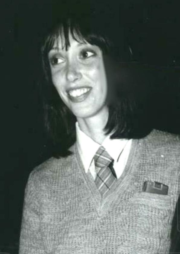 Shelley Duvall w 1977 roku