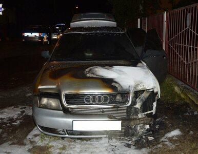 Biała Podlaska. Ze złości podpalił Audi partnerki