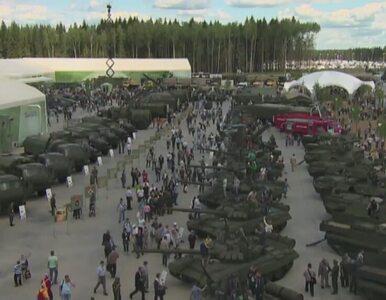 Rosja pręży muskuły. Armia chwali się sprzętem na wystawie pod Moskwą
