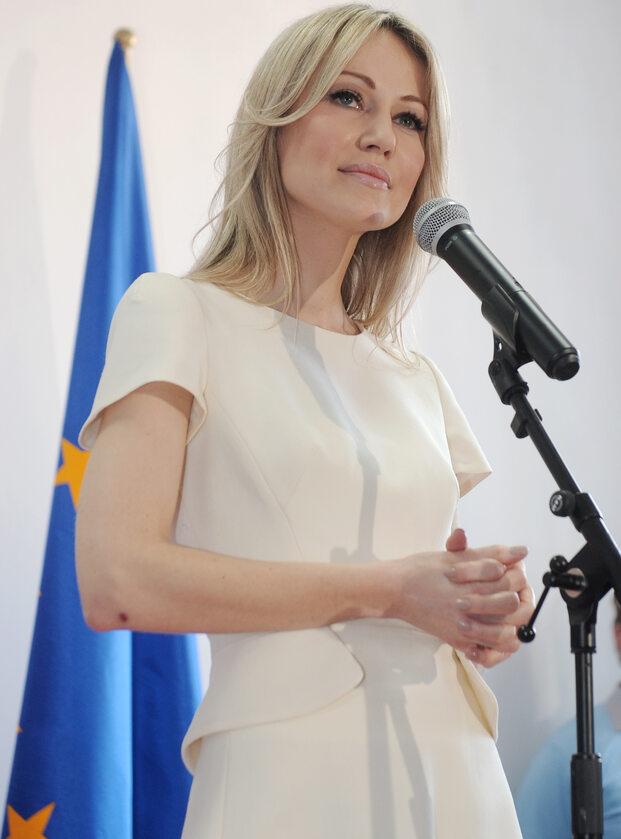 Magdalena Ogórek w 2015 roku