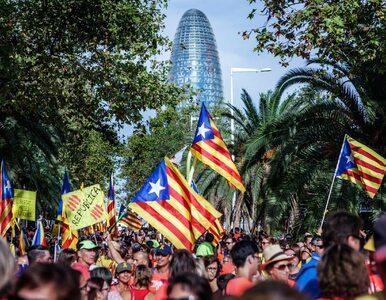 Starcia z policją w Katalonii w rocznicę referendum. 43 osoby ranne