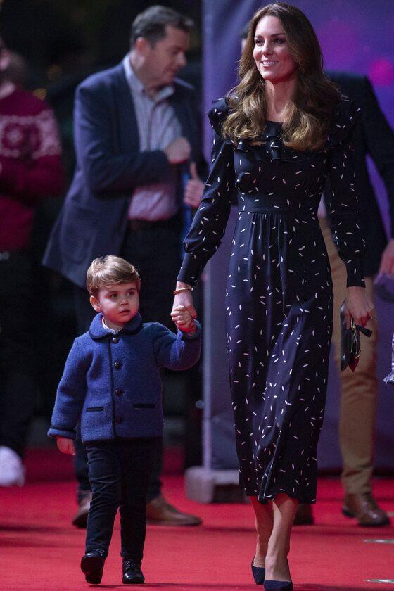 Księżna Kate i Louis