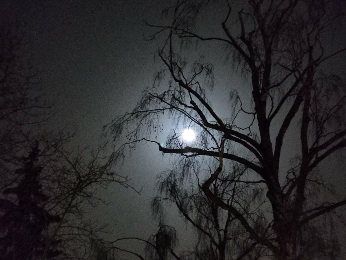 Niebieski Księżyc w Łodzi