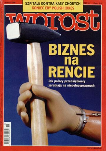 Okładka tygodnika Wprost nr 10/1999 (849)