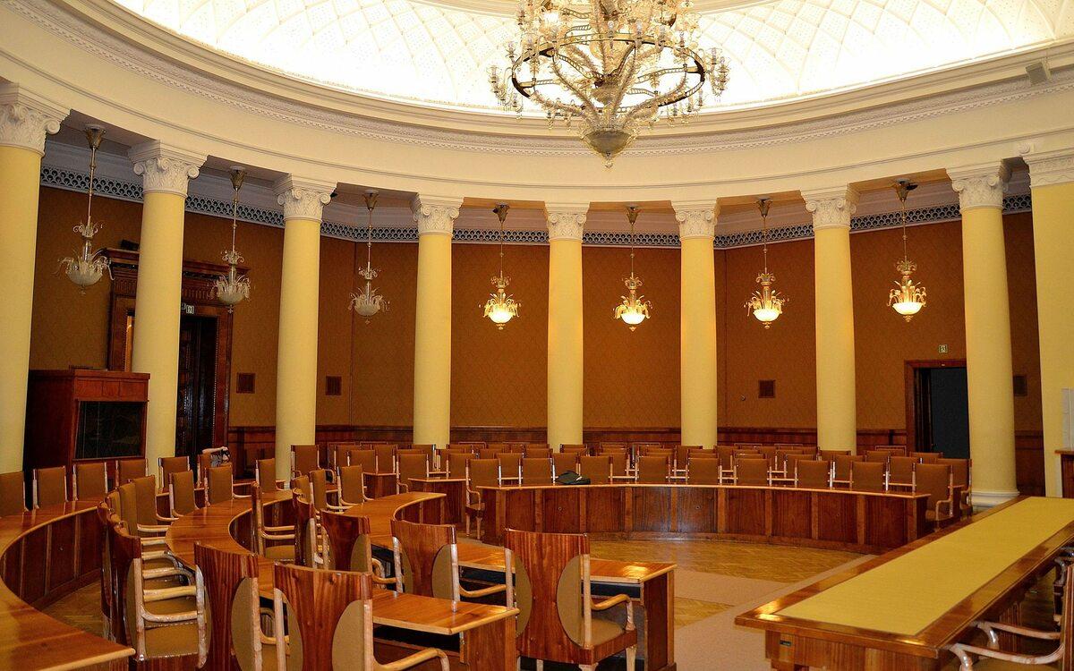 Sala im. prof. Lwa Rudniewa – głównego projektanta PKiN