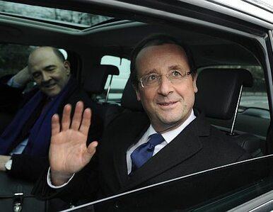 Rywal Sarkozy'ego prowadzi kampanię wyborczą w Londynie
