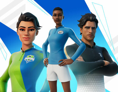 Fortnite wprowadza oficjalne piłkarskie koszulki. Dodano nowy tryb gry i...