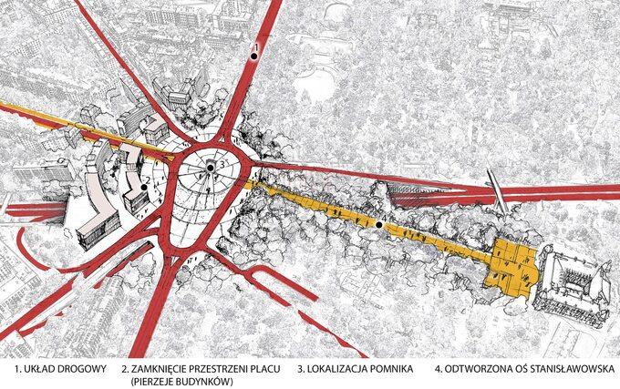 Projekt przebudowy Placu naRozdrożu