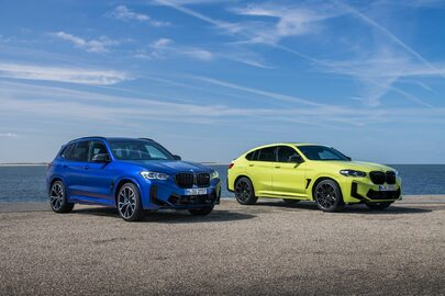 BMW X3M Competition i X4M Competition