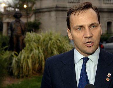 Sikorski oficjalnie kandydatem na szefa unijnej dyplomacji