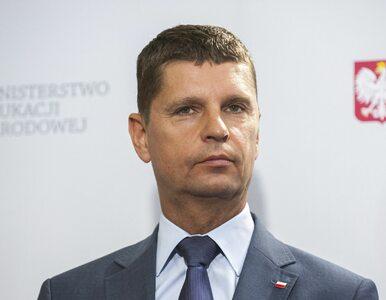 """Piontkowski mówił o testach dla nauczycieli. """"ZNP powiela postulaty..."""