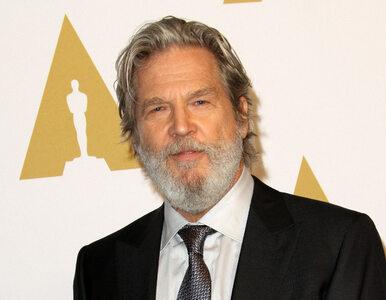 """Jeff Bridges poinformował, że ma chłoniaka. """"Gów** wypłynęło na..."""