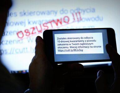 Policja ostrzega: Uwaga na fałszywe SMS-y o kwarantannie