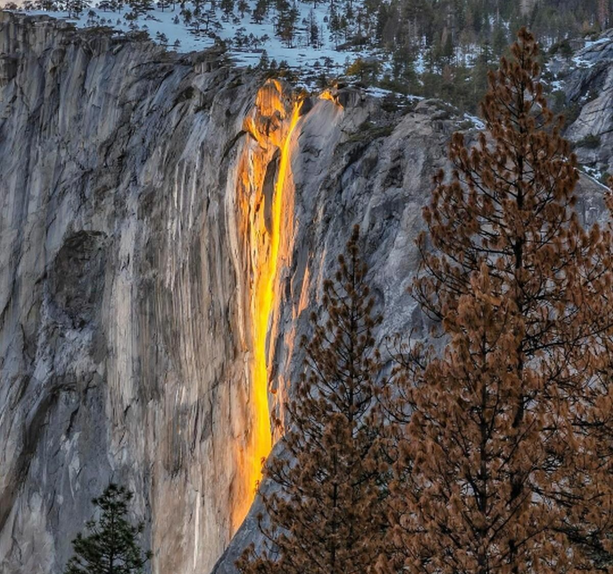 Wodospad Horsetail Fall